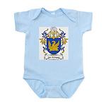 Van Schagen Coat of Arms Infant Creeper
