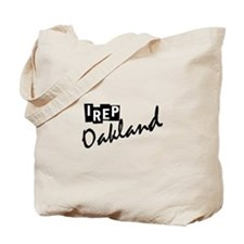 I rep Oakland Tote Bag