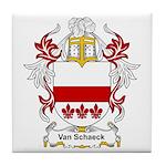 Van Schaeck Coat of Arms Tile Coaster