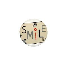 OYOOS Smile design Mini Button (10 pack)