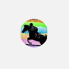 Born To Ride! Equestrian Hors Mini Button