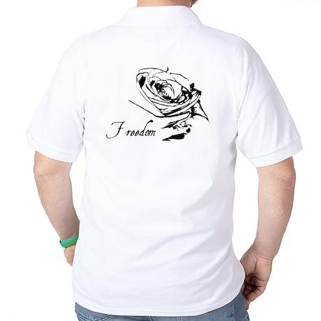 FR33d0m Rose Golf Shirt