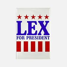 Super Man -Evil is Hot : Lex Luthor Rectangle Magn