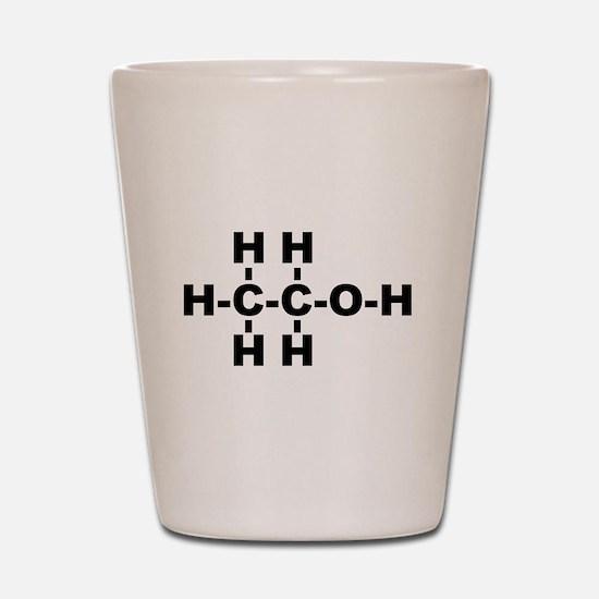 Ethanol Molecule Shot Glass