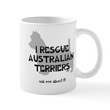 I RESCUE Australian Terriers Mug