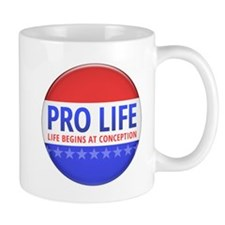 Pro Life Small Mug