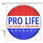 Pro Life Shower Curtain