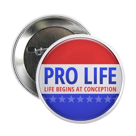 "Pro Life 2.25"" Button (10 pack)"