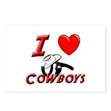 HOT COWBOYS Postcards (Package of 8)