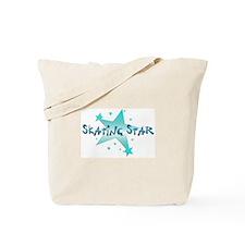 Skating Star Tote Bag