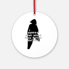 WWMPD? Sil Ornament (Round)