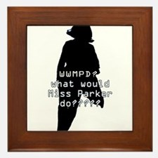 WWMPD? Sil Framed Tile