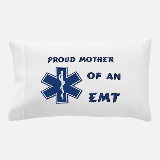 Proud EMT Mother Pillow Case