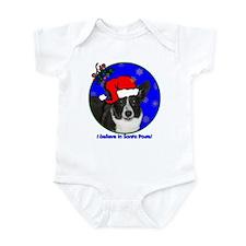SANTA PAWS Corgi Infant Bodysuit