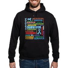 Survivor Prostate Cancer Hoodie
