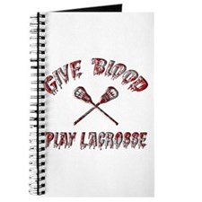 Give Blood Play Lacrosse Journal