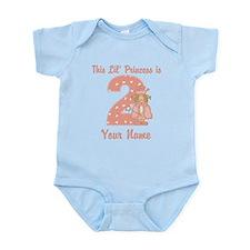 2nd Birthday Princess Infant Bodysuit