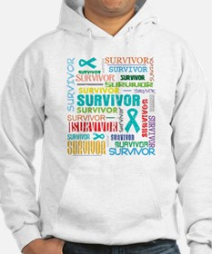 Survivor Ovarian Cancer Hoodie