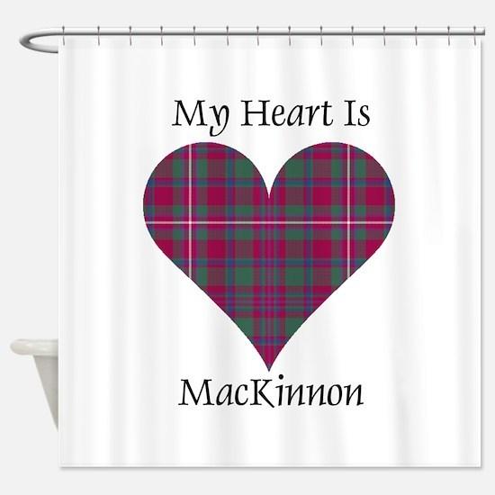 Heart-MacKinnon Shower Curtain