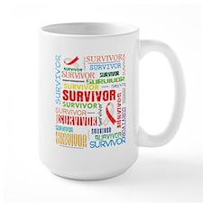 Survivor Oral Cancer Mug