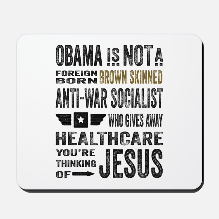 Obama Mousepad