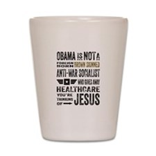 Obama Shot Glass