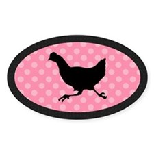 Running Chicken Decal