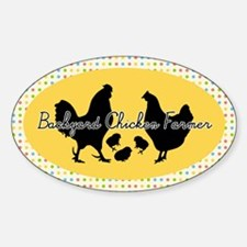 Backyard Chicken Farmer Decal