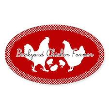 Backyard Chicken Farmer Bumper Stickers