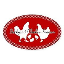 Backyard Chicken Farmer Decal