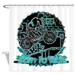BMX Shower Curtain