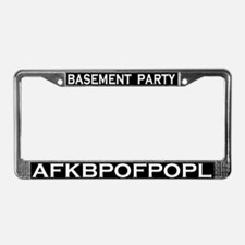 BP AFKBPOFPOPL License Plate Frame