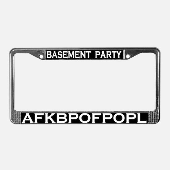 BP AFKBPOFPOPL License Plate Frame