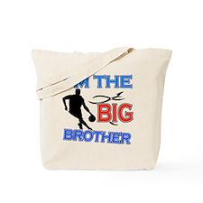 Cool Basketball Big Brother Design Tote Bag