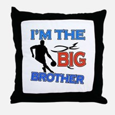 Cool Basketball Big Brother Design Throw Pillow
