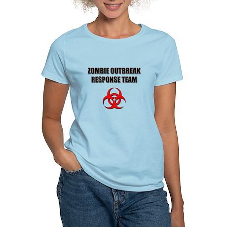 Zombie Outbreak Response Team Women's Light T-Shir