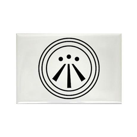 Awen Rectangle Magnet (10 pack)