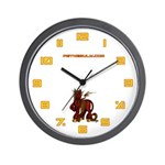 Damned Panormo Wall Clock