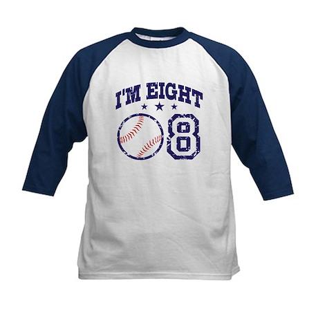 Eight Year Old Baseball Kids Baseball Jersey