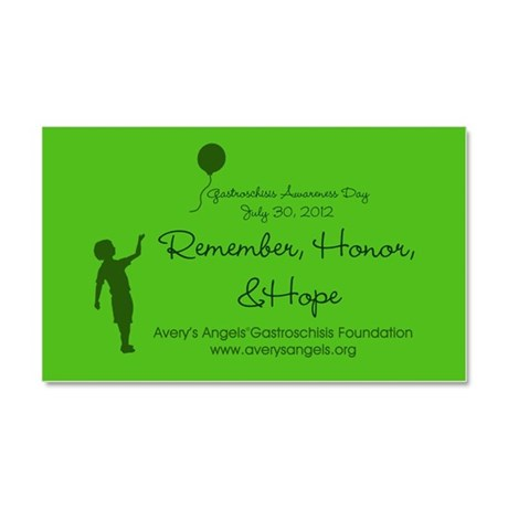 Gastroschisis Awareness Day ' Car Magnet 20 x 12