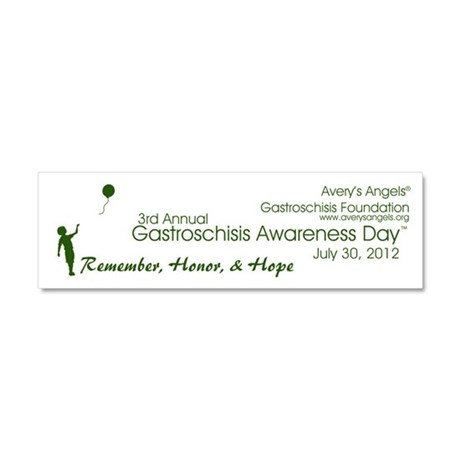 Gastroschisis Awareness Day ' Car Magnet 10 x 3