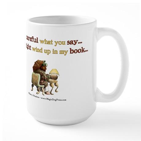 Writers Only Large Mug