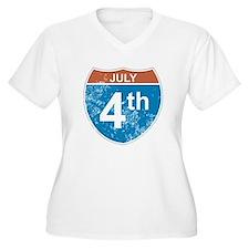 July 4th Hwy T-Shirt