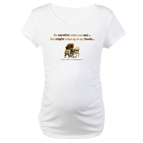 Writers Only Maternity T-Shirt