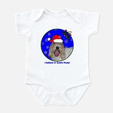 SANTA PAWS PBGV Infant Bodysuit
