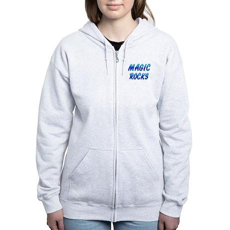 Magic ROCKS Women's Zip Hoodie