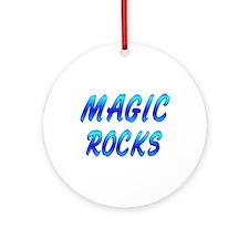 Magic ROCKS Ornament (Round)