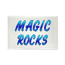 Magic ROCKS Rectangle Magnet