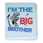 Cool Dirt Biking big brother design baby blanket