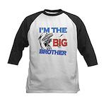 Cool Dirt Biking big brother design Kids Baseball
